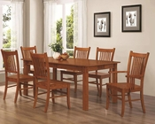 Coaster Dining Set Marbrisa in Brown CO-100621Set