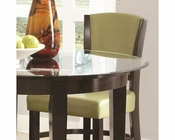 *Coaster Dining Counter Stool  in Green CO-103689GRN (Set of 2)