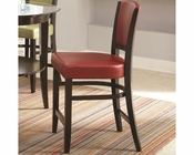 *Coaster Dining Counter Stool  in Red CO-103689RED (Set of 2)