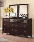 Coaster Dresser w/ Mirror Devine CO-203093-94