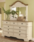 Coaster Dresser w/ Mirror Oleta CO-202883-84