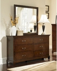 Coaster Dresser w/ Mirror Tatiana CO-202393-94