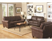 Coaster Elegant and Rustic Sofa Set Bentley CO-504201Set