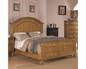 Coaster Emily Bed in Light Oak CO-202571BED
