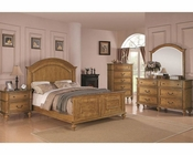 Coaster Emily Bedroom Set in Light Oak CO-202571Set