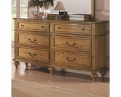 Coaster Emily Dresser in Light Oak CO-202573