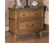 Coaster Emily Nightstand in Light Oak CO-202572