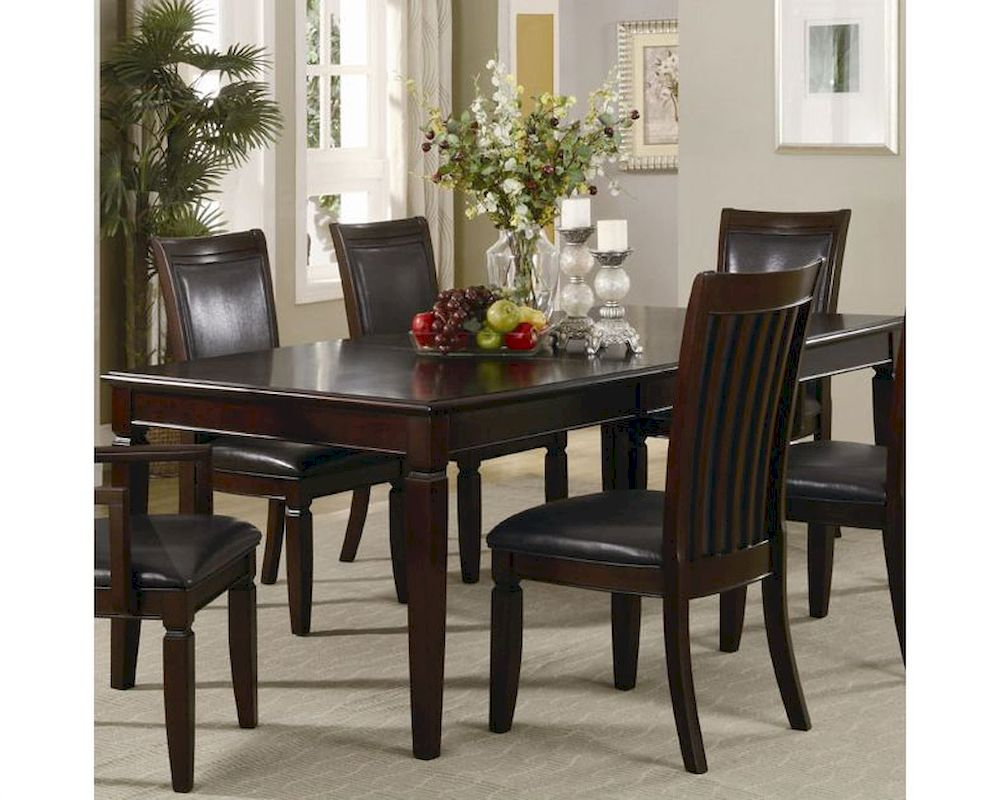 coaster formal dining table ramona