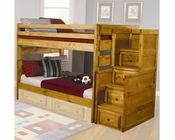Coaster Full Full Bed with Stairway Chest Wrangle Hill CO460096-98