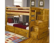 Coaster Full/Full Bunk Bed w/ Dresser and Chest CO460096-97-98