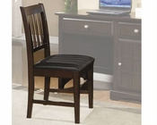 Coaster Furniture Armless Side Chair in Cappuccino Jasper CO400759