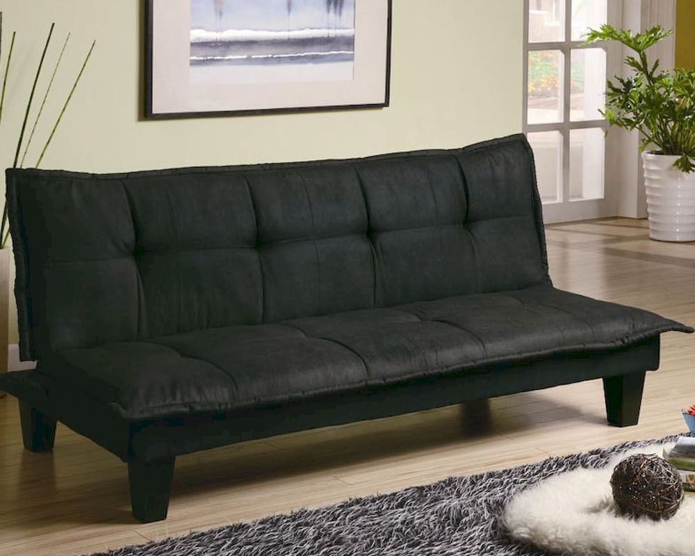 Coaster Furniture Casual Padded Convertible Sofa Bed In