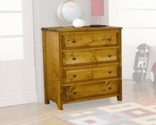 Coaster Furniture Chest in Amber Wrangle Hill CO460099