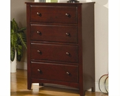Coaster Furniture Chest in Dark Cappuccino Parker CO400295