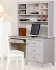 Coaster Furniture Computer Desk with Hutch Selena CO400237-8
