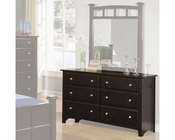 Coaster Furniture Dresser in Cappuccino Jasper CO400753