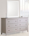 Coaster Furniture Dresser in White Selena CO400233
