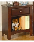 Coaster Furniture Nightstand in Dark Cappuccino Parker CO400292