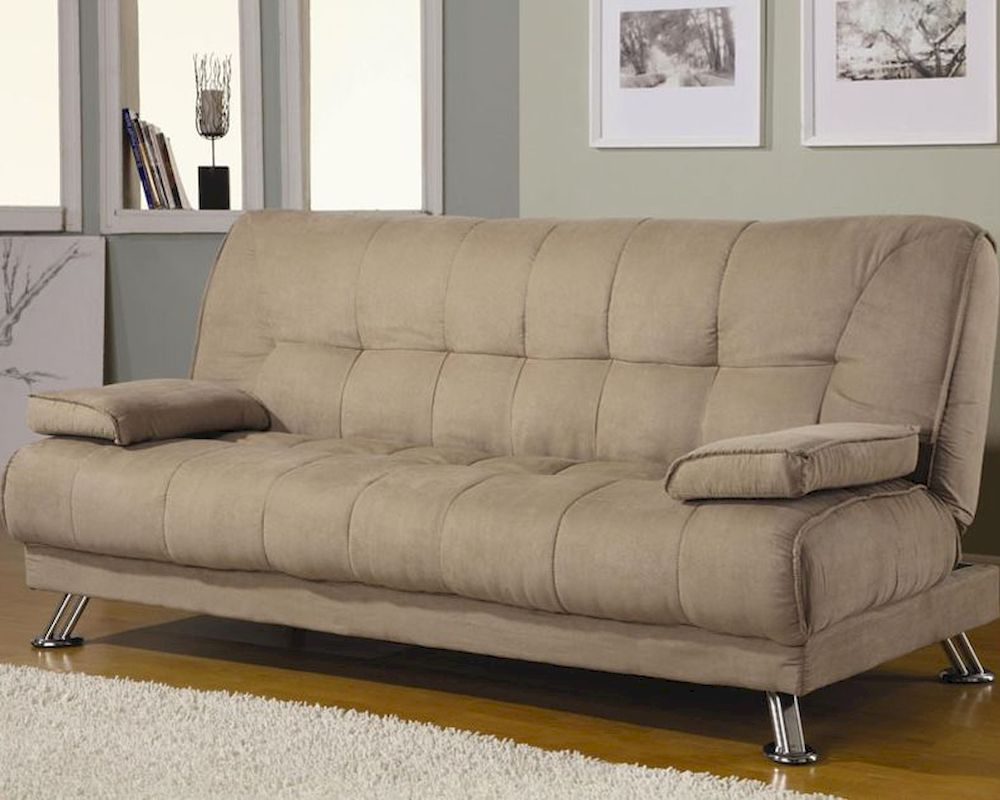 Coaster Furniture Sofa Bed With Removable Armrest In Tan