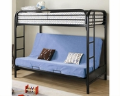 Coaster Furniture Twin over Full Futon Bunk Bed Fordham CO2250K