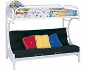 Coaster Furniture Twin over Full Futon Bunk Bed Fordham CO2253W