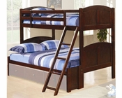 Coaster Furniture Twin over Full Panel Bunk Bed Parker CO460212