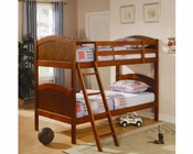 Coaster Furniture Twin over Twin Bunk Bed in Dark Pine Bunks CO460203
