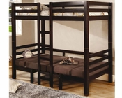 Coaster Furniture Twin over Twin Convertible Bunk Bed Bunks CO460263