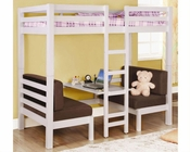 Coaster Furniture Twin over Twin Convertible Bunk Bed Bunks CO460273