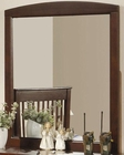Coaster Furniture Vertical Mirror in Dark Cappuccino Parker CO400294