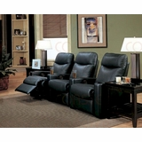 coaster home theater seating set co7537