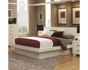 Coaster Jessica Bed in White CO-202990BED