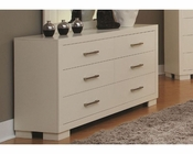 Coaster Jessica Dresser in White CO-202993