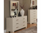 Coaster Jessica Dresser w/ Mirror in White CO-202993-94
