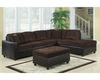 Coaster L-Shape Casual Contemporary Sectional Sofa Henri CO-5030-SS