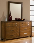 Coaster Langley Dresser & Mirror CO-201543-4