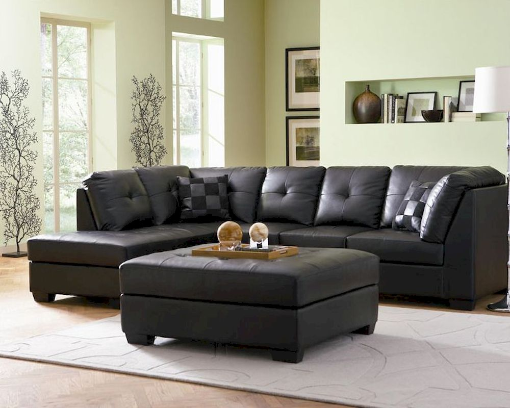 Coaster Leather Sectional Sofa Darie Co 5006 Ss