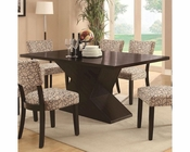 Coaster Libby Dining Table w/ Hourglass Base CO-103160