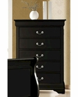 Coaster Louis Philippe Chest in Black CO-203965