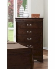 Coaster Louis Philippe Chest in Cappuccino CO-202415