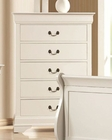 Coaster Louis Philippe Chest in White CO-204695