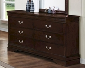 Coaster Louis Philippe Dresser in Cappuccino CO-202413