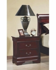 Coaster Louis Philippe Nightstand in Cherry CO-203972