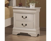 Coaster Louis Philippe Nightstand in White CO-204692