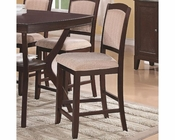 *Coaster Memphis Pub Chair CO-102769 (Set of 2)