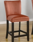 Coaster Microfiber Bar Stool Bloomfield in Red CO-100589RED (Set of 2)