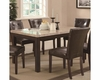 Coaster Milton Dining Leg Table w/ Marble Top CO-103771