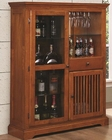Coaster Mission Style Bar Cabinet Marbrisa in Brown CO-100625