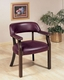 Coaster Office Quest Chair in Burgundy CO-511-515-B
