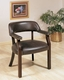 Coaster Office Quest Chair in Oxblood CO-511-515-X